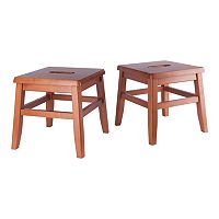 Deals on Winsome Kaya 2-Piece Conductor Stool Set