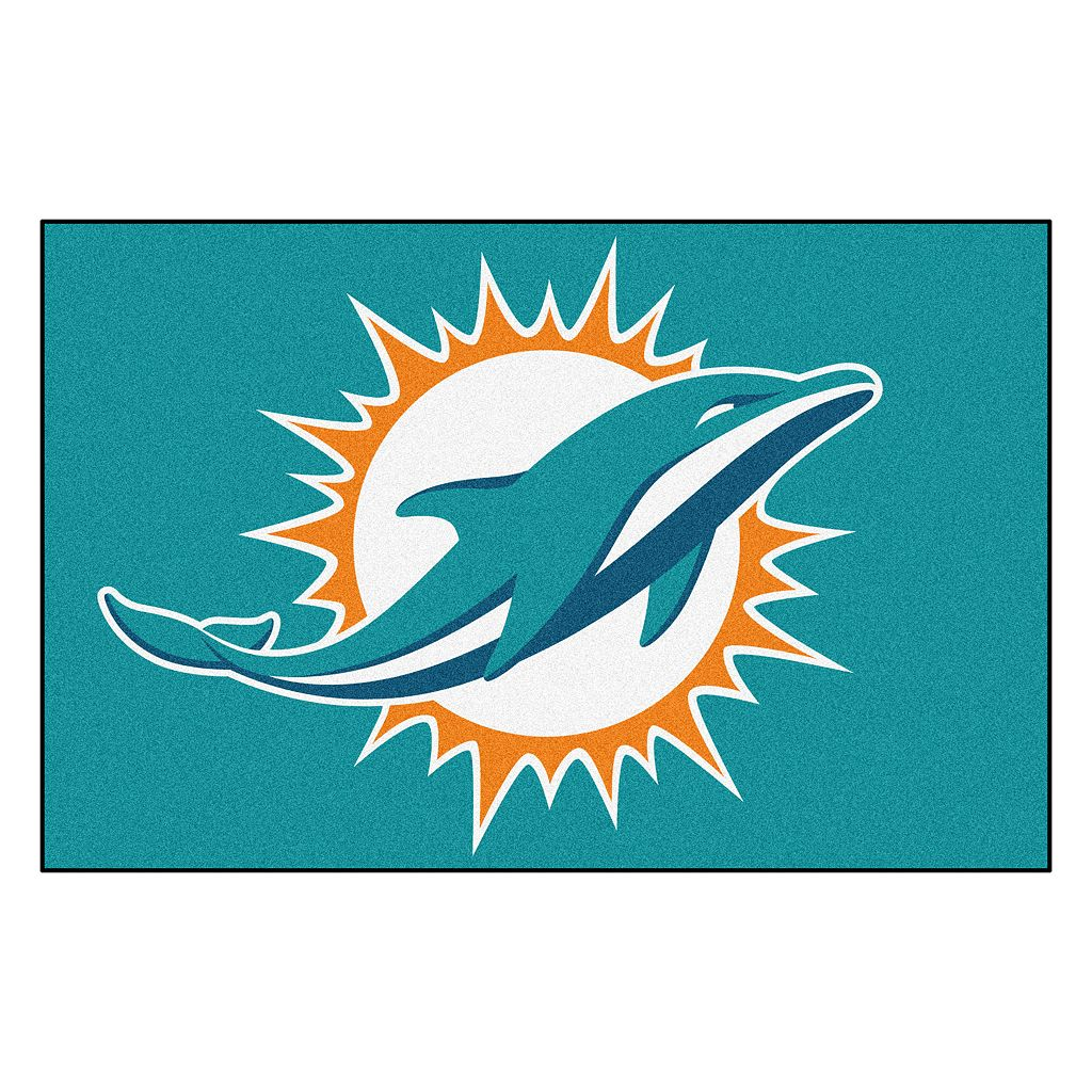 Fanmats® Miami Dolphins Starter Rug