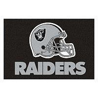 Fanmats® Oakland Raiders Starter Rug
