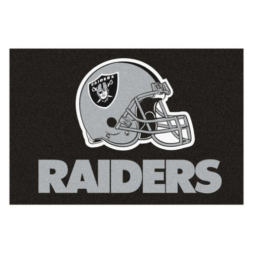 Fanmats Oakland Raiders Starter Rug