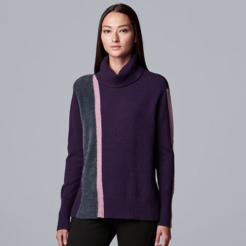 Women's Simply Vera Vera Wang Turtleneck Sweater