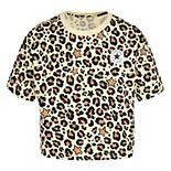 Girls 7-16 Converse Chuck Patch Leopard Print Boxy T-Shirt