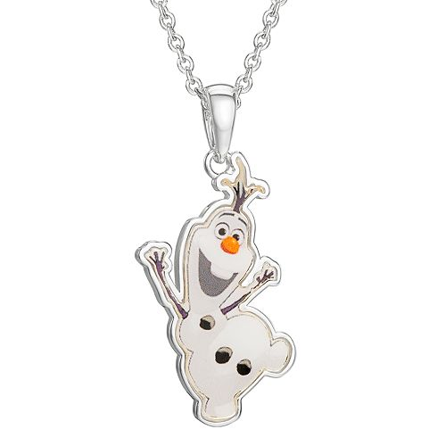Disney Frozen Olaf Pendant Necklace