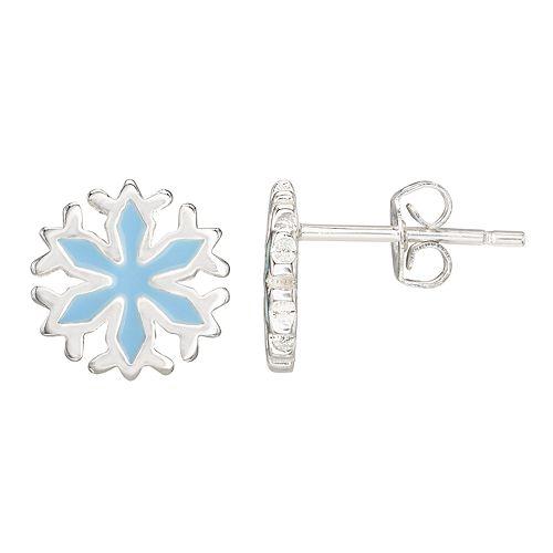Disney Frozen 2 Snowflake Post Earrings