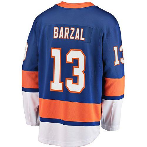 Men's New York Islanders Mathew Barzal Breakaway Jersey