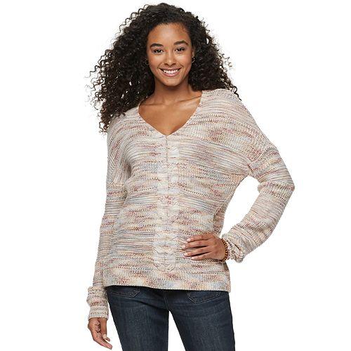 Juniors' American Rag Multi Stitch Pullover Shirt