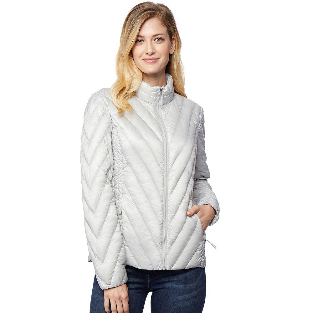 Women's Heat Keep Chevron Silk Nano Packable Jacket