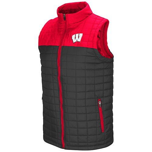 Men's Wisconsin Badgers Amplitude Puff Vest