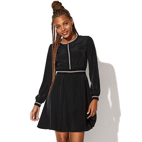 Juniors' Vylette™ Fit & Flare Dress