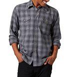 Men's Wrangler Plaid Flannel Snap-Front Western Shirt