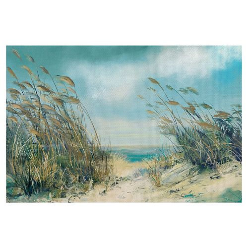 Fine Art Canvas Dune Grasses Canvas Wall Art