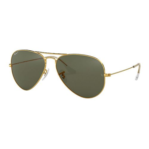 Ray-Ban RB3025 Original Aviator 58mm Polarized Sunglasses