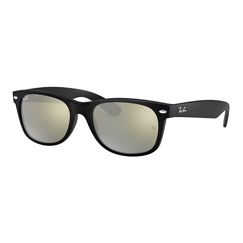 Ray-Ban RB2132 New Wayfarer 55mm Square Mirror Sunglasses