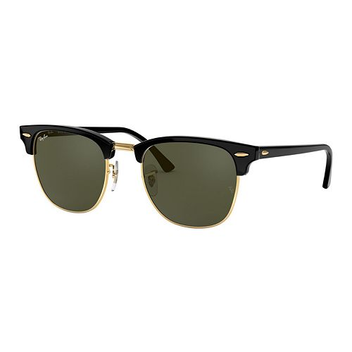 Ray-Ban RB3016 Clubmaster Classic 51mm Square Sunglasses