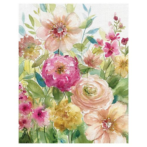Fine Art Canvas Bloomin' Pretty Canvas Wall Art