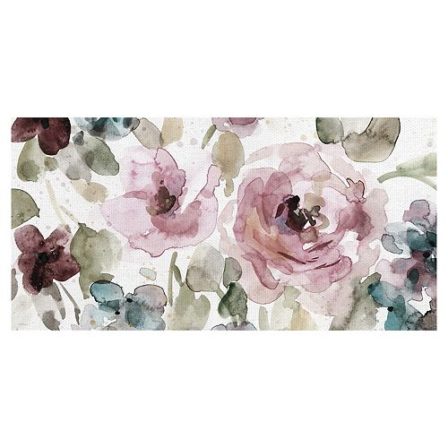 Fine Art Canvas Garden Palette I Canvas Wall Art