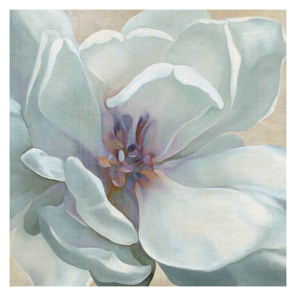 Fine Art Canvas Iridescent Bloom I Canvas Wall Art