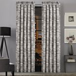 37 West Brody Graphite Window Curtain Set