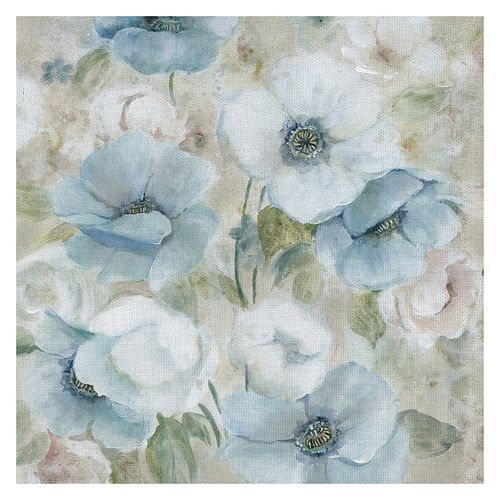 Fine Art Canvas Pastel Garden I Canvas Wall Art