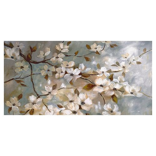 Fine Art Canvas Blossoms of May Panel Canvas Wall Art