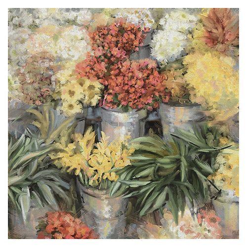 Fine Art Canvas Spring Market Canvas Wall Art