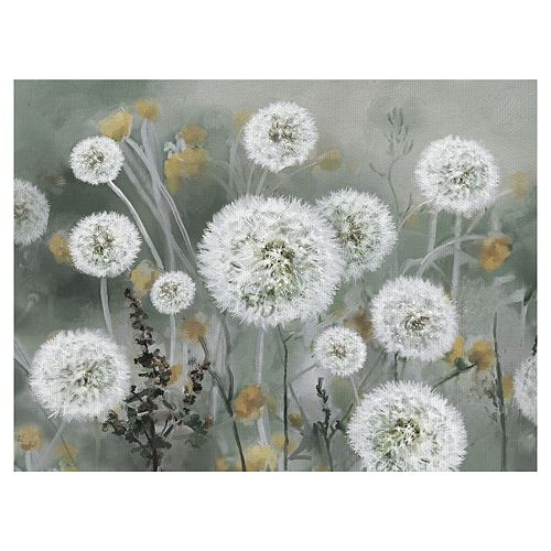 Fine Art Canvas Wild Wishes Canvas Wall Art
