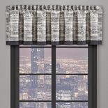 37 West Brody Graphite Window Straight Valance