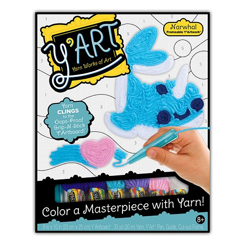 Y'Art Narwhal Craft Kit