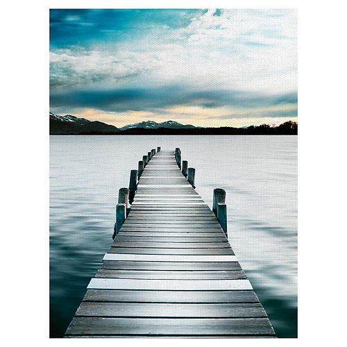 Fine Art Canvas Path to Tranquility Canvas Wall Art