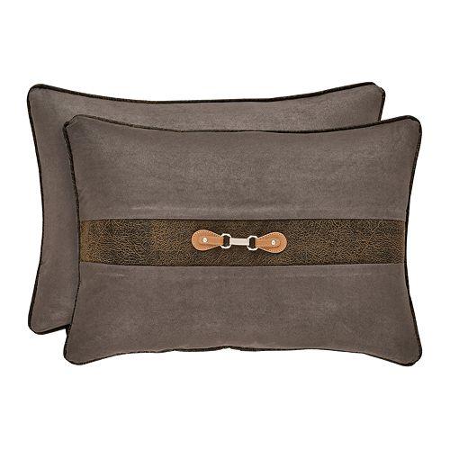 37 West Jamison Grey Boudoir Decorative Throw Pillow
