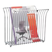 Neu Home Wide-Top Magazine Rack