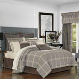 37 West Jamison Grey California King 4-Piece Comforter Set