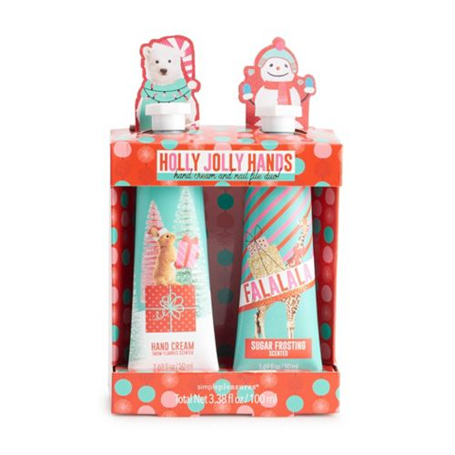 Simple Pleasures 3-Piece Hand Cream & Nail File Set