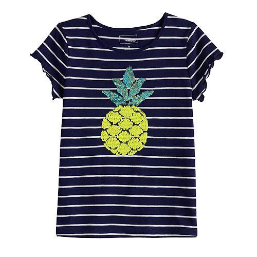 Girls 4-12 SONOMA Goods for Life™ Flip Sequin Graphic Tee