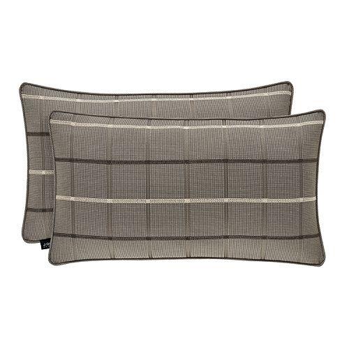 37 West Soho Graphite Boudoir Decorative Throw Pillow