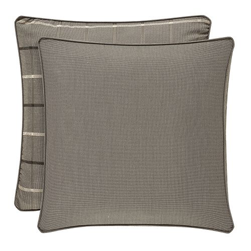 37 West Soho Graphite Euro Sham