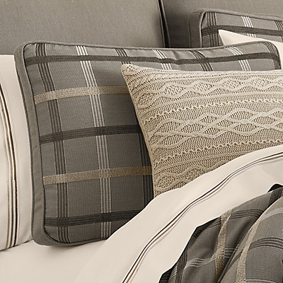 37 West Soho Graphite King 4-Piece Comforter Set