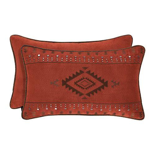 37 West Tacoma Rust Boudoir Decorative Throw Pillow