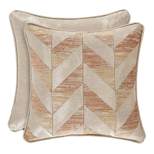 37 West Sussex Coral Square Decorative Throw Pillow