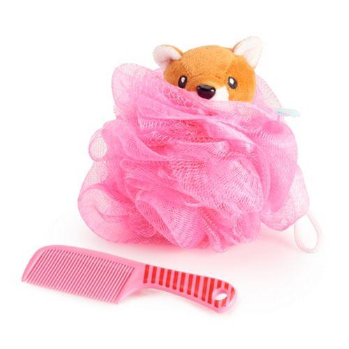 Simple Pleasures Fox Loofah & Comb Set