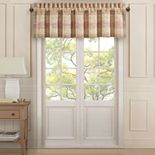 37 West Sussex Coral Window Straight Valance