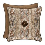 37 West Baldwin Rust Square Decorative Throw Pillow