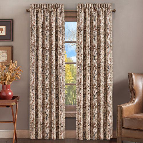 West Baldwin Rust Window Curtain Set