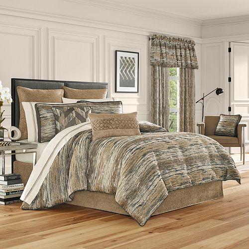 37 West Sussex Gold 4-Piece Comforter Set