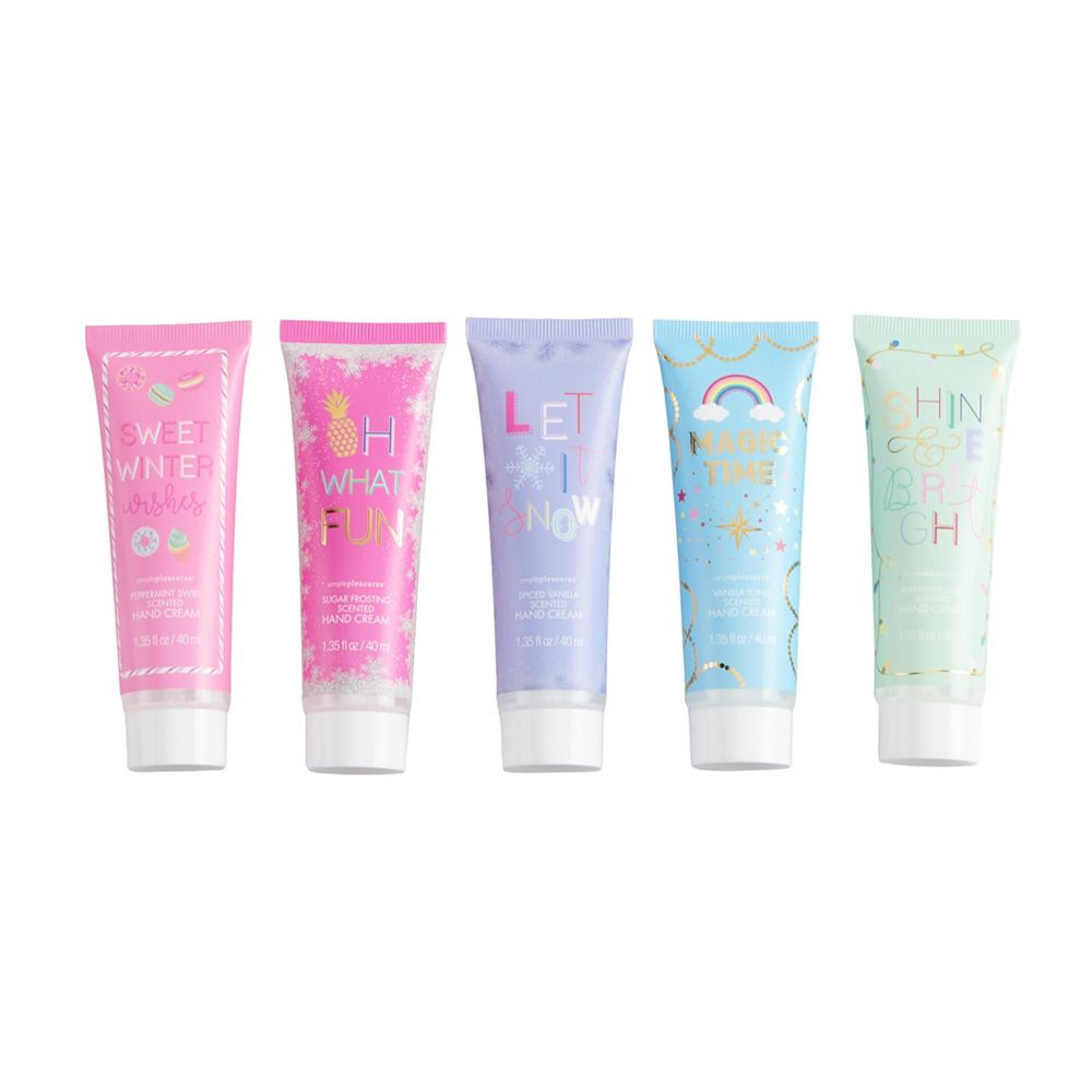 Simple Pleasures 5-Piece Hand Lotion Set