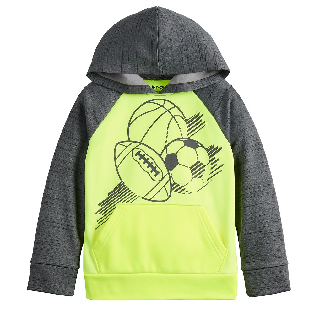 Boys 4-12 Jumping Beans® Sports Graphic Poly Fleece Pullover