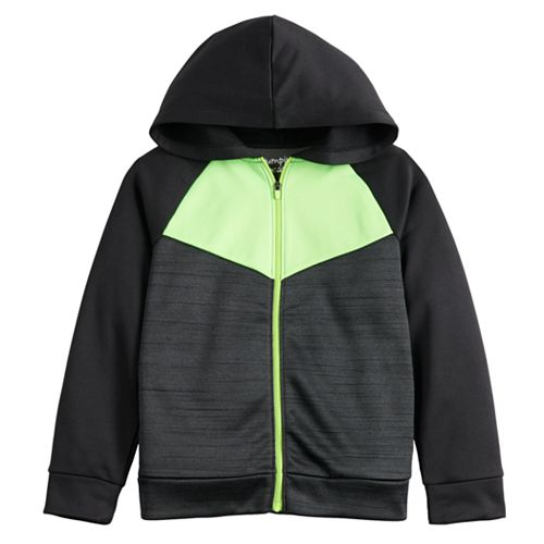 Boys 4-12 Jumping Beans® Chevron Active Fullzip Hoodie
