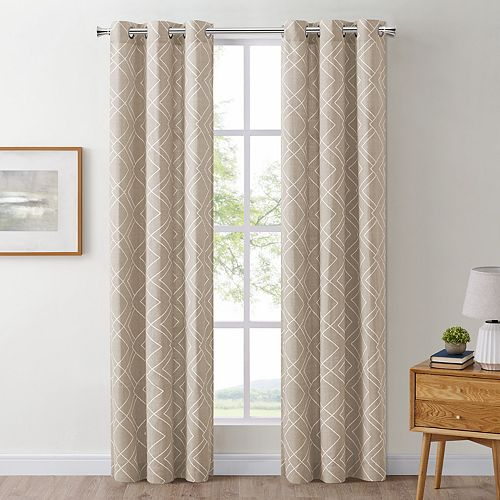The Big One® 2-pack Drew Geo Window Curtains