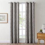 The Big One® 2-pack Drew Geo Decorative Window Curtains