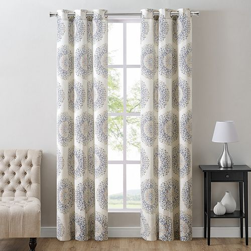The Big One® 2-pack Harris Medallion Window Curtains